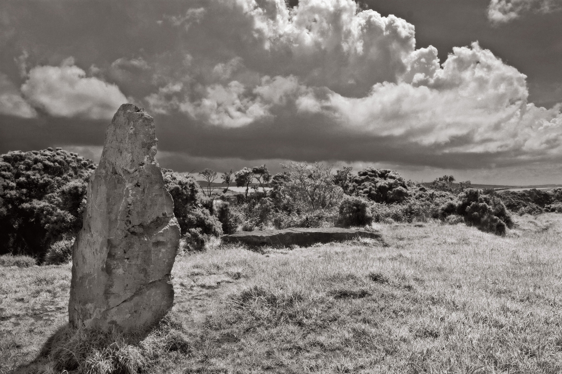 Nine Maidens Standing Stone, Ninth of Nine