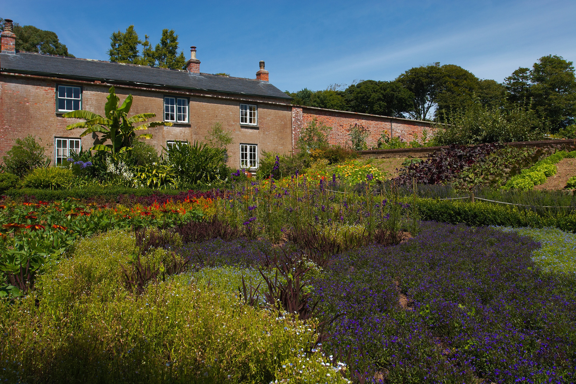 The walled kitchen garden at Trengwainton Garden