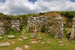 Chysauster Celtic Village Walls, Penwith, Cornwall