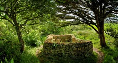 Madron Celtic Chapel, near Penzance, Cornwall