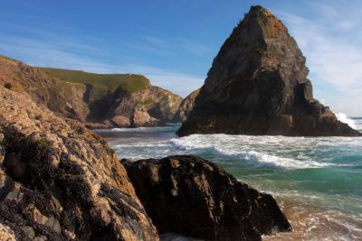 Bedruthan Steps Rock Stack