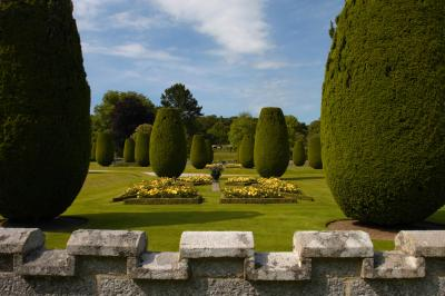 Lanhydrock House Formal Gardens