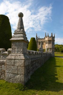 Lanhydrock House Garden Wall and Gatehouse