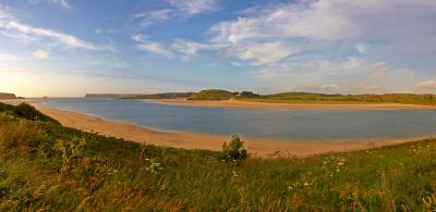 The Camel Estuary near Padstow, Cornwall