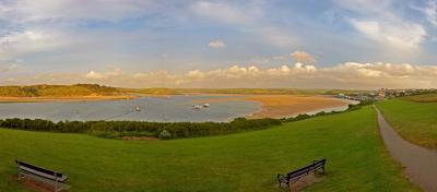 Padstow and Rock Panorama