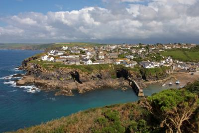 Port Isaac From The Cliffs