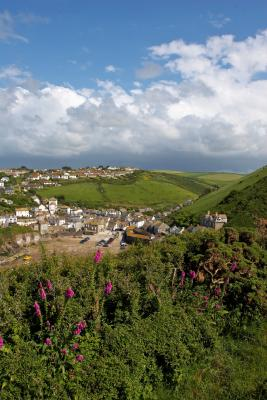 Port Isaac From The Coastal Path