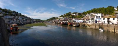 Looe River Panorama