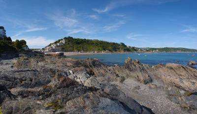 Looe Rocks Panorama