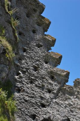 Tintagel Castle Walls, Cornwall
