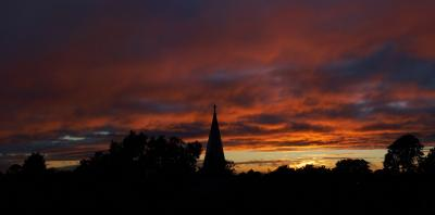 St Andrews Sunset Panorama