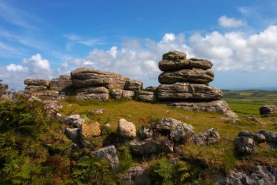 Rosewall Hill Tor Rock Formations