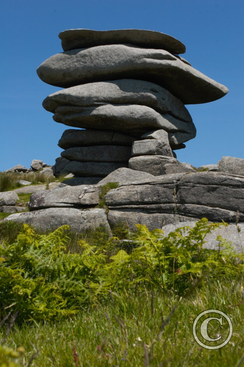 The Cheesewring Tor Bodmin Moor Cornwall Wild Places