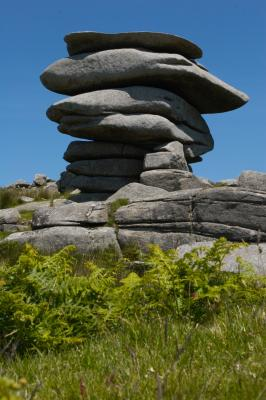 The Cheesewring Tor, Bodmin Moor, Cornwall