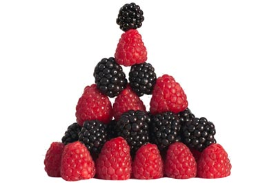 Berries Pyramid Stock