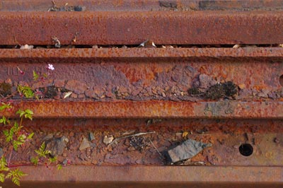 Rusted Rails Stock