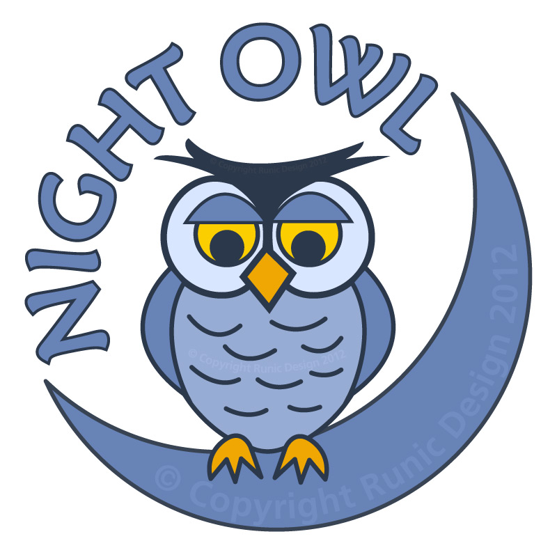 Night owl logo - photo#2